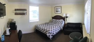 Queen beds and single pull out. Rooms 114 & 115